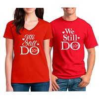 Anniversary T Shirts For Couples | Our T Shirt Shack
