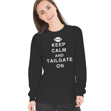 Venley Women's Tailgate Long Sleeve Thermal Crew Neck T-Shirt