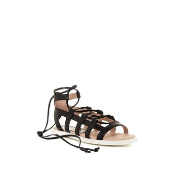 Nina Originals Women's Black Saida Sandal