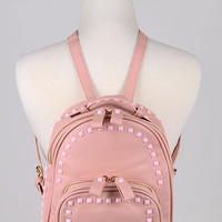Studded Designer Inspired Back Pack
