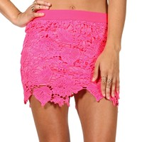 Sale-lace Skirt
