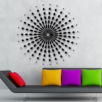Wall Stickers Vinyl Decal Mandala Buddhist Amulet Decor for Room Unique Gift (ig951)