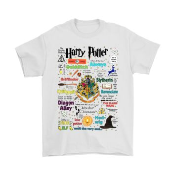 ONETOW Life In Hogwarts House Crests Harry Potter Shirts