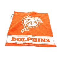 Miami Dolphins NFL Woven Golf Towel