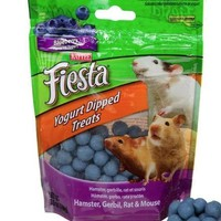 Kaytee Fiesta Hamster Blueberry Yogurt Treats 3.5 oz