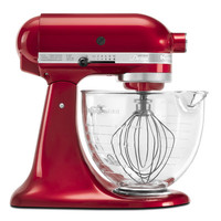 KitchenAid Artisan Design Series 5 Qt. Stand Mixer with Glass Bowl & Reviews | Wayfair