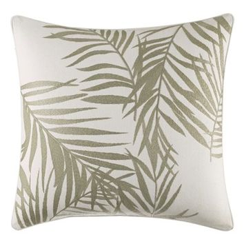 Tommy Bahama Palms Away Embroidered Accent Pillow | Nordstrom