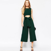 Hollow Out Jumpsuit