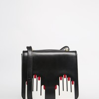 Lulu Guinness Marcie Cross Body With Hands Graphic at asos.com