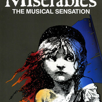 Les Miserables 11x17 Movie Poster (1987)