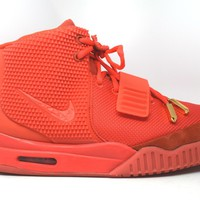 KUYOU Nike Air Yeezy 2 SP Red October *Tried on*