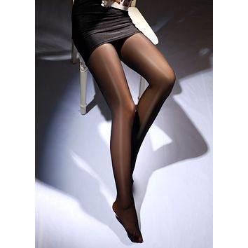 1Pcs Sexy Summer Autumn Spring Women Breathable High Waist Sexy Oil Shine Glossy Pantyhose Tights 7 Colors