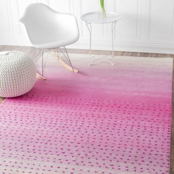 nuLOOM Hand Tufted Blush Area Area Rug