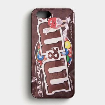 M&M Chocolate Candies iPhone SE Case