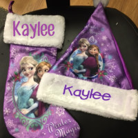 Personalized Stockings - Frozen