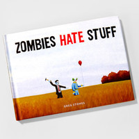 FredFlare.com - Zombies Hate Stuff - Funny Zombie Picture Book