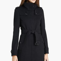 Women's Burberry London 'Basingstoke' Wool & Cashmere Coat