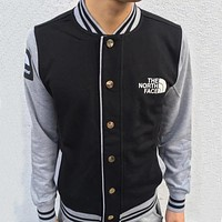 Supreme X The North Face Fashion Casual Simple Multicolor Cardigan Jacket Coat