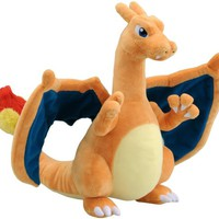 Charizard Pokemon Best Wishes Plush Doll Takara Tomy Japan