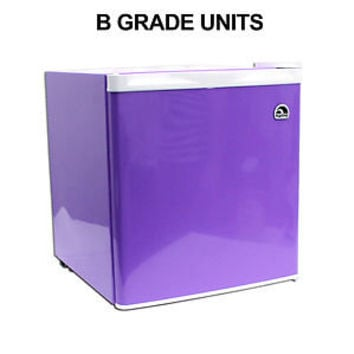 "Igloo 1.7 Cu Ft Purple Compact Mini Fridge / Refrigerator FR115 - ""B"" Grade unit"