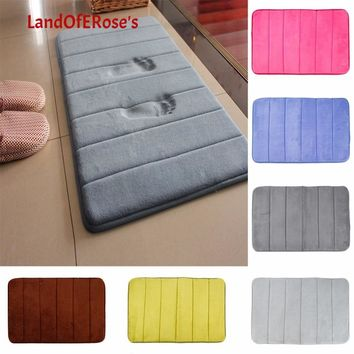 Land Of Rose's 40*60cm Carpet Rug coral fleece Memory Foam