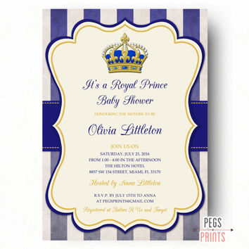 Prince Baby Shower Invitation was best invitation sample