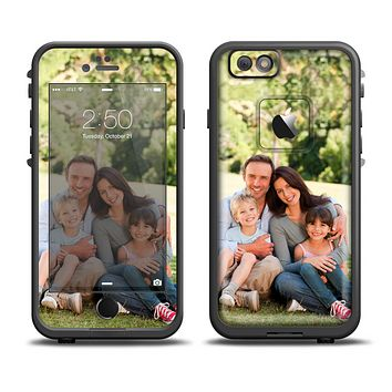 Custom Add Your Own Photo Skin Set for the Apple iPhone 6 LifeProof Fre Case