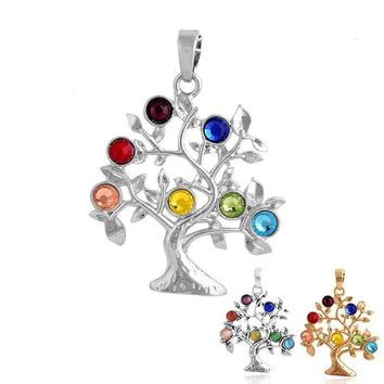 Tree Of Life Pendant Necklace For Women