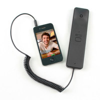 Cyanics C1 Handset with Answer and Volume Button for iPhone, Samsung Galaxy, LG, Motorola, iPad and Mre