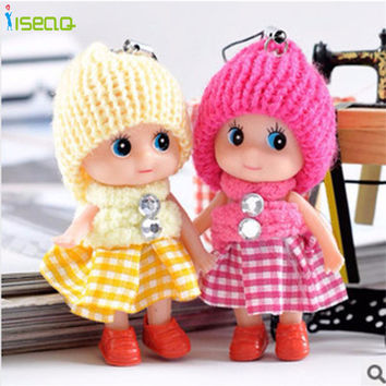 2pcs Kids Toys Soft Interactive Baby Dolls Toy Mini Toys For Girls Doll Reborn silicone reborn baby dolls Children Gifts DS025