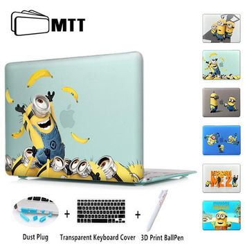Minion Dressing Room Matte Laptop Case Cover Sleeve For Macbook Air 11 A1465 Air 13 inch A1466 Pro 13 A1278 Retina 13 A1502