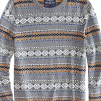 AEO Men's Fair Isle Sweater
