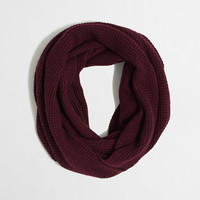Factory waffle infinity scarf : Scarves | J.Crew Factory