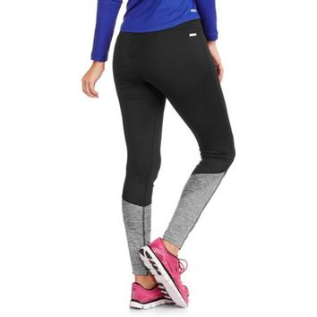 Danskin Now Women's Melange Color Block Fashion Leggings - Walmart.com