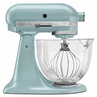 KitchenAid KSM155GBAZ Azure Blue 5-quart Artisan Tilt-head Stand Mixer (Color: Blue)