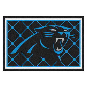 Carolina Panthers NFL Floor Rug (60x96)