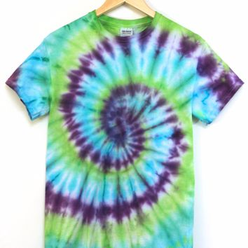 ONE OF A KIND Tie Dye Unisex Tee #3 Size Small