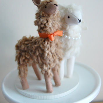 Llama Cake Topper MADE TO ORDER