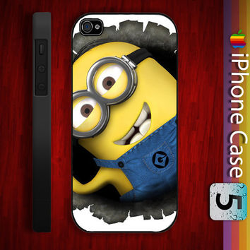 Despicable me Minions Custom Apple Phone Hard by samsonsusanto
