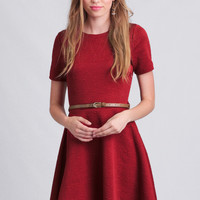 Rosemarie Textured Dress