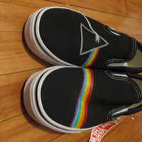 Pink Floyd Dark Side of The Moon shoes