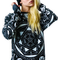Kill Star Occult Pullover Sweatshirt
