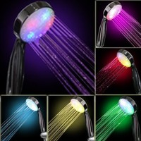 7 COLOR LED SHOWER HEAD ROMANTIC LIGHTS WATER HOME BATH - Xmas day:Amazon:Home Improvement