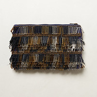 Fringed Fanfare Clutch