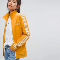 adidas Originals Track Jacket In Yellow at asos.com