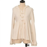 おめかしリボンのチュニックパーカ | Angelic Pretty | Cutsew | w-29294 | Wunderwelt Online Shop - Gothic & Lolita Second-hand Clothing