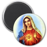 Blessed Virgin Mary - Mother of God Magnet