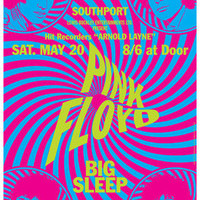 PINK FLOYD - 20 May 1967 - Southport - concert live show poster artistic