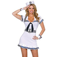 Dreamgirl Womens Cruise Cutie Halloween Party Sailor Costume