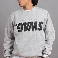 The F#CK YOUR SWAG Crewneck (blk)